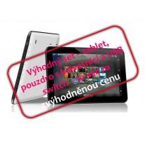 """Tablet BORNTECH 7"""", pouzdro s klávesnicí, USB switch - SET"""
